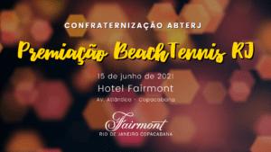 PREMIAÇÃO BEACH TENNIS RJ 2020
