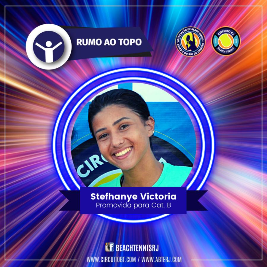 Stefhanye Victoria - Promovida Cat B