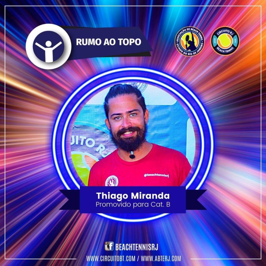 Thiago Miranda - Promovido Cat B