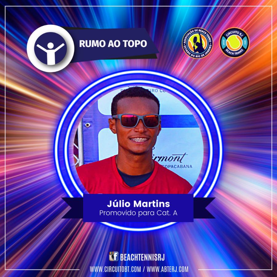 Júlio Martins - Promovido Cat A