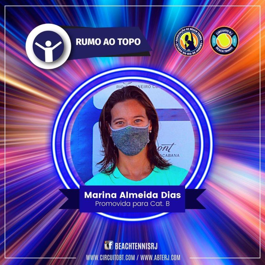 Marina Almeira Dias - Promovida Cat B