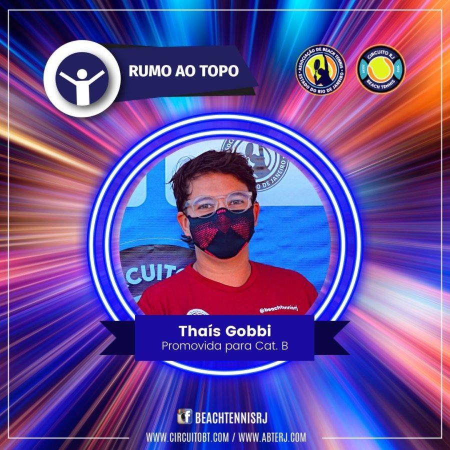 Thaís Gobbi - Promovida Cat B