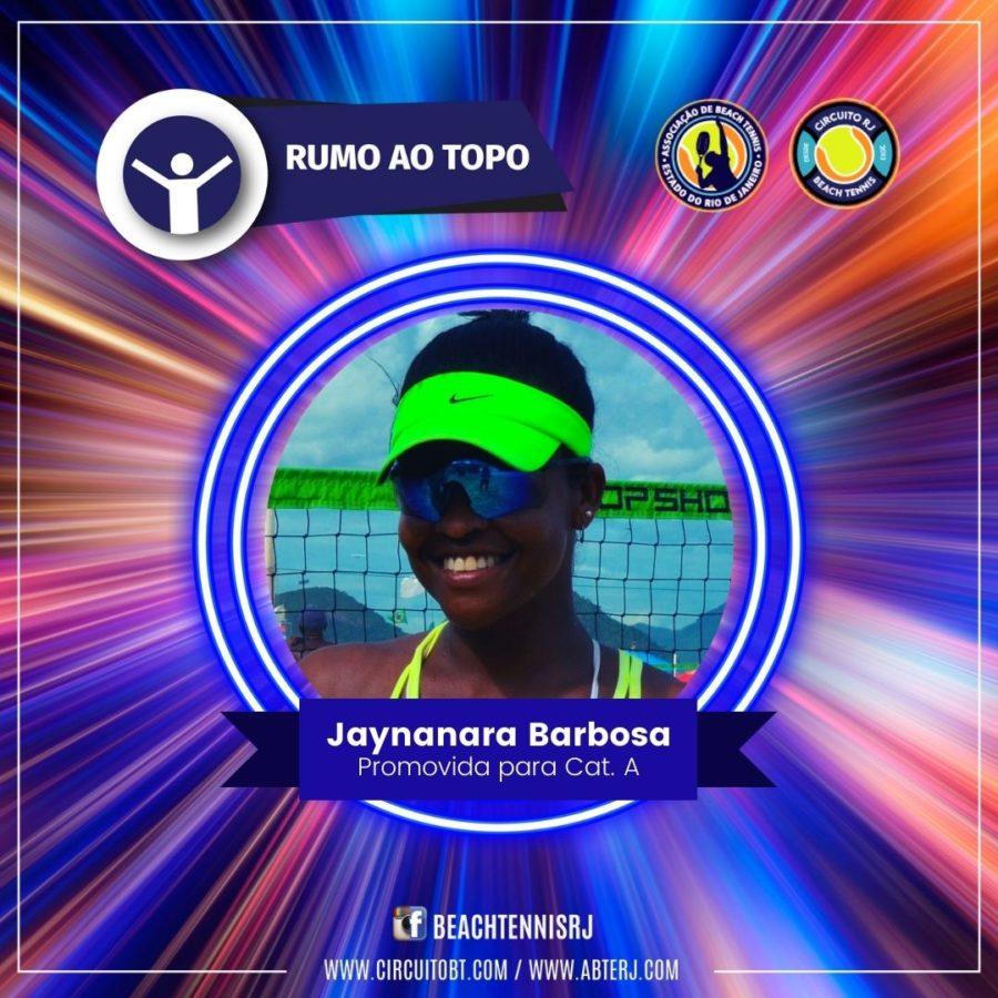 Jaynnara Barbosa - Promovida Cat A
