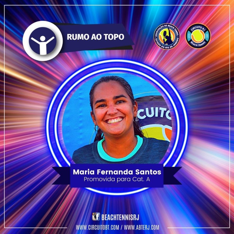 Maria Fernanda Santos - Promovida Cat A